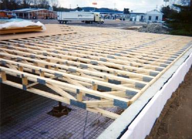 Wisconsin truss inc for Web floor truss